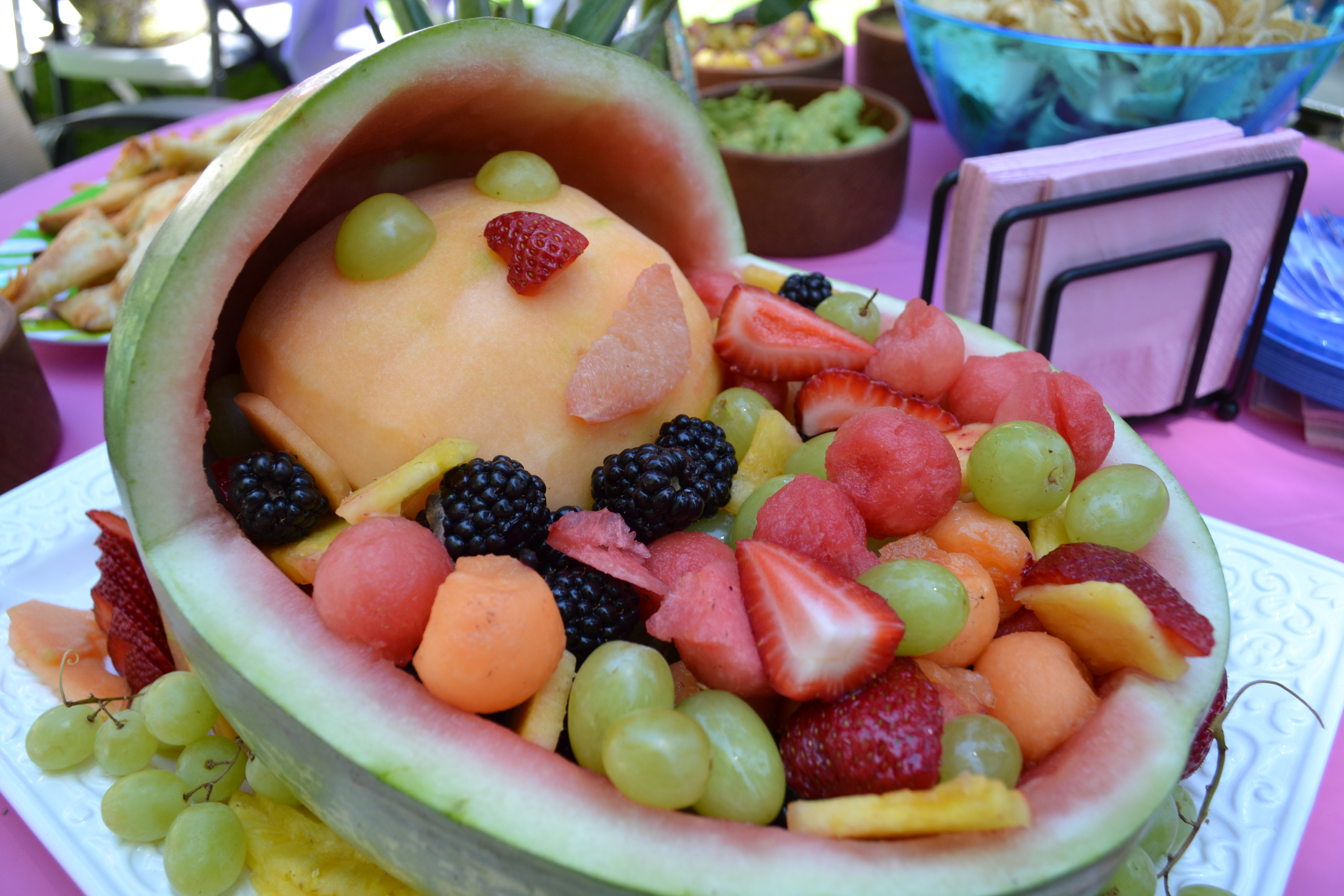 Fruit Salad Baby Shower 6.24.12 012